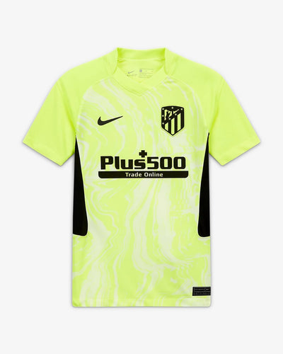 Atletico Madrid Third 2020/21 With Name & No.