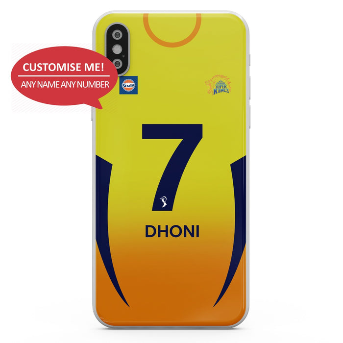 CSK Customised 2020/21 Mobile Cover