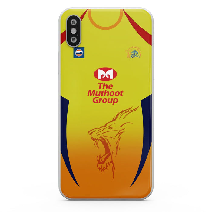 CSK Front 2020/21 Mobile Cover