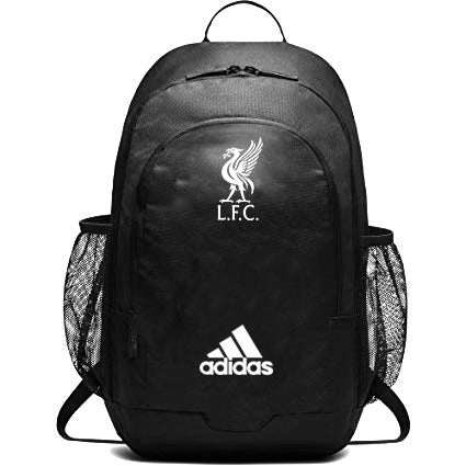 Liverpool FC Unisex Stadium Black Backpack