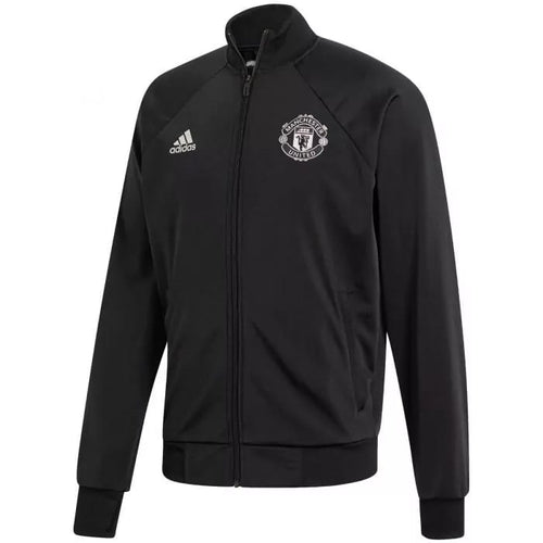 Adidas 2019-20 Manchester United Icons Jacket - Black