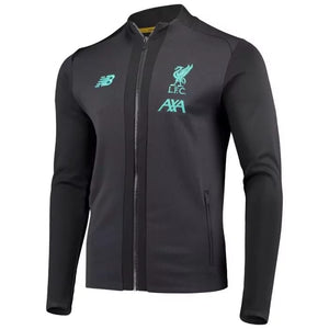 New Balance 2019-20 Liverpool Stadium Jacket - Black-Teal