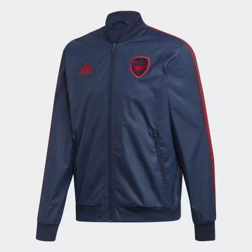 Adidas 2019-20 Arsenal Anthem Jacket - Navy-Red