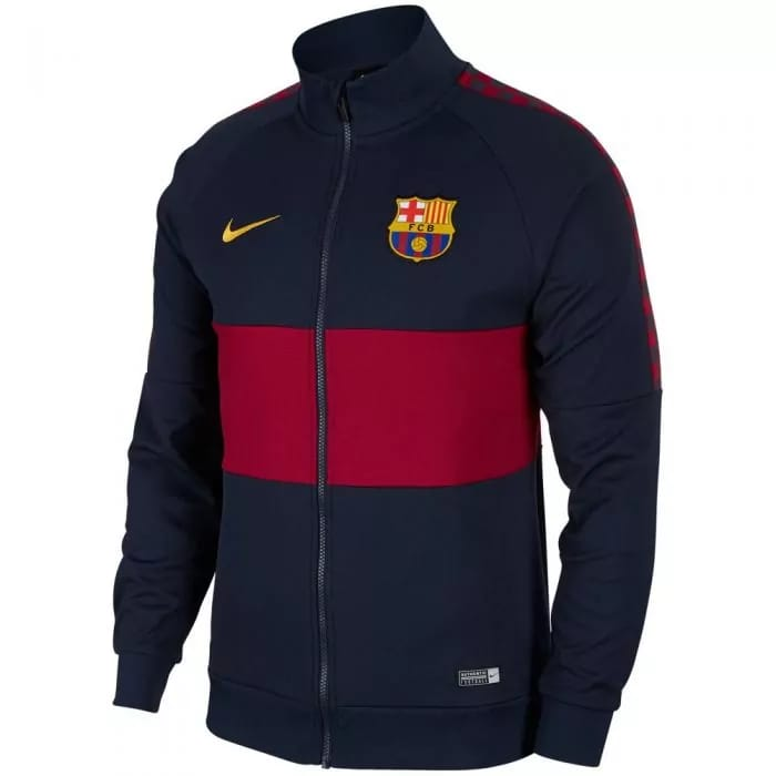 Barcelona 2019-20 Jacket - Blue-Red