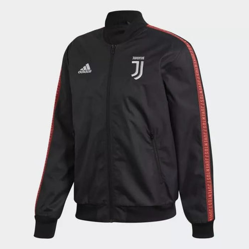Adidas 2019-20 Juventus Anthem Jacket - Black