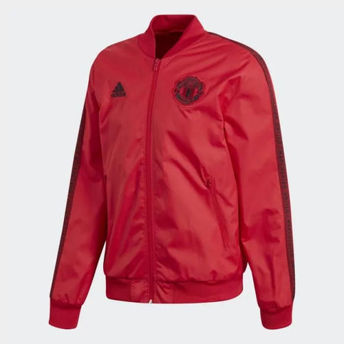 Adidas 2019-20 Manchester United Anthem Jacket - Red