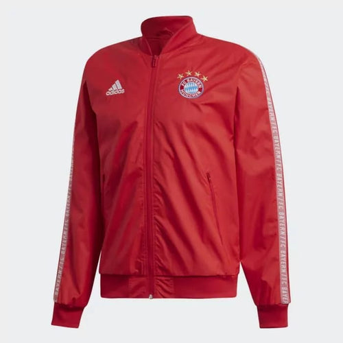 Adidas 2019-20 FC Bayern Anthem Jacket - Red