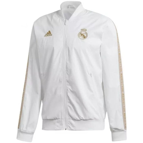 Adidas 2019-20 Real Madrid Anthem Jacket - White
