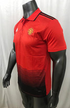 Load image into Gallery viewer, Manchester United Polo T-Shirts - Red