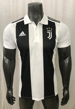 Load image into Gallery viewer, Juventus Polo T-Shirts - White & Black