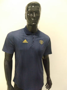 Manchester United Polo T-Shirts - Grey