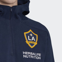 Load image into Gallery viewer, Adidas 2020 LA Galaxy 3-Stripes Travel Jacket - Navy