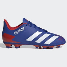 Load image into Gallery viewer, Adidas JR Predator 20.4 FG - Blue-Red