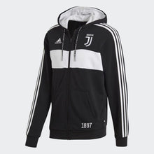 Load image into Gallery viewer, 2019-20 Juventus FZ Hoodie - Black-White