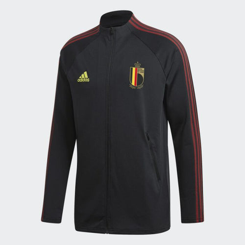 Adidas 2020-21 Belgium Anthem Jacket - Black