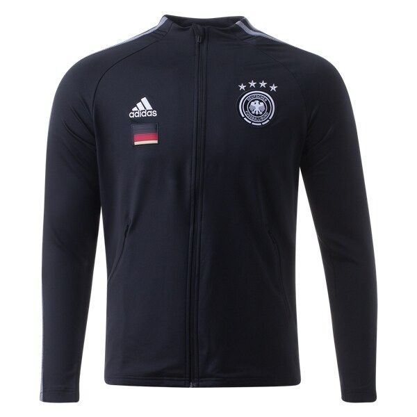 Adidas 2020-21 Germany Anthem Jacket - Black