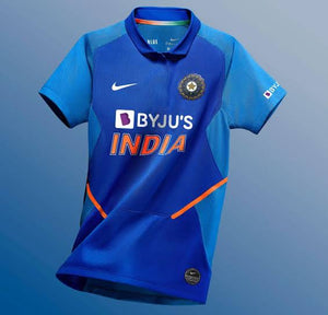 Indian Cricket Jersey Without Name & No.