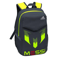 Messi Unisex Black Bag