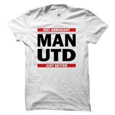 Man United White Fan T Shirt