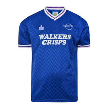 Load image into Gallery viewer, LEICESTER CITY 1987-88 RETRO FOOTBALL SHIRT
