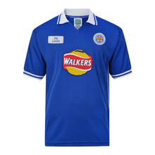 Load image into Gallery viewer, LEICESTER CITY 1999-00 RETRO FOOTBALL SHIRT