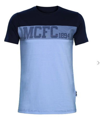 MCFC Blue Fan T Shirt