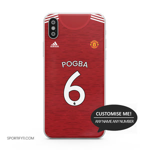 Manchester United Home 2020/21 Mobile Cover