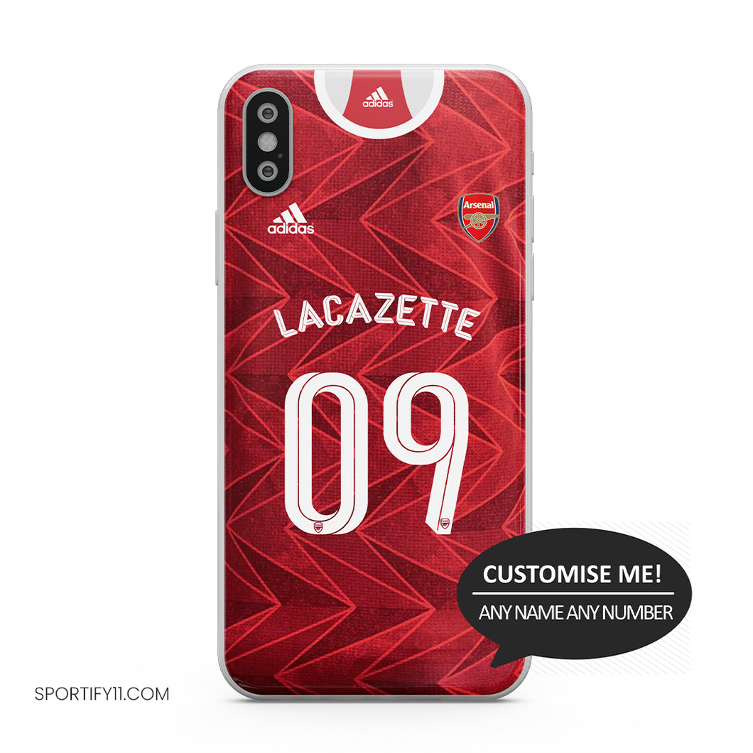 Arsenal Home 2020/21 Mobile Cover