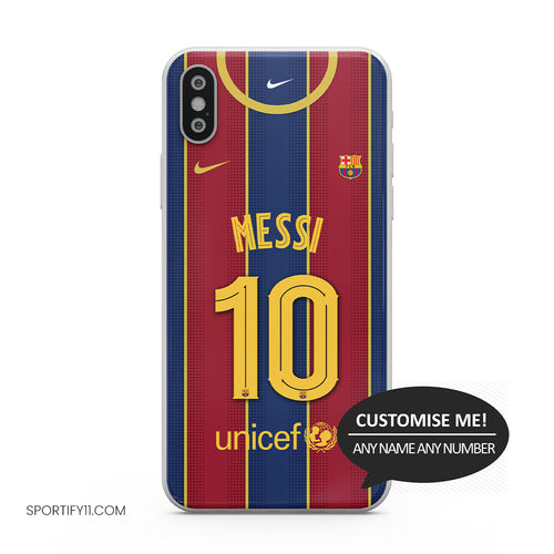 Barcelona Home 2020/21 Mobile Cover