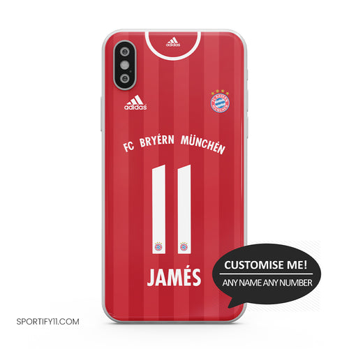 Bayern Munich Home 2020/21 Mobile Cover