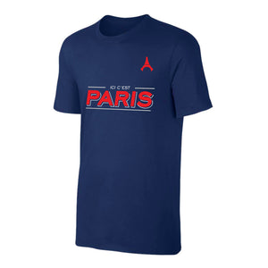 PSG Navy Blue Fan T Shirt