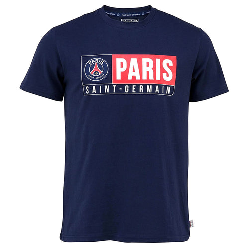 Paris Saint Germain Navy Blue Fan T Shirt