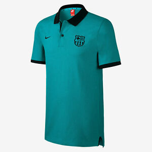 Barcelona All Fan T Shirt Sea Green