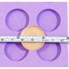 1 Inch Round Circle Silicone Mold resin jewelry