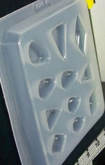 Diamond and teardrop mold 406