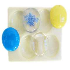 40 mm by 30 mm cabochon reusable silicone mold