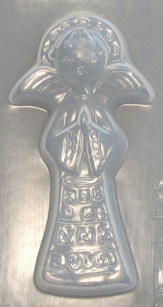 Angel Ornament Center Mold 446