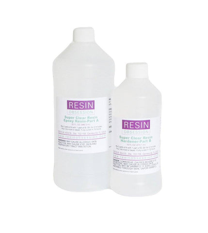 Resin Obsession Super Clear Resin 48 ounce resin kit