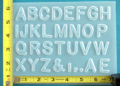 A to Z Letters Mold 504