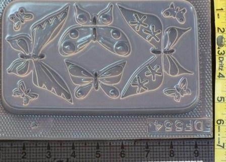 Butterflies Mold 554 - 8 Cavity