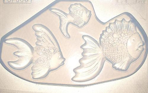 Fish Family Mold 506