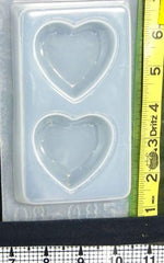 Heart Mold 851 - 2 Cavity