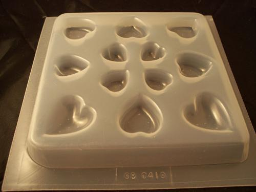 Heart Mold 410 - 12 Cavity