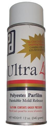Ultra 4 Polyester Parfilm Paintable Mold Release 12 oz