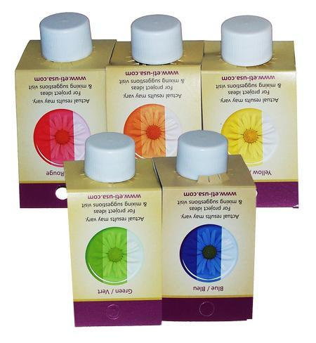 Castin' Craft Complete Transparent Liquid Resin Dye Set of Five