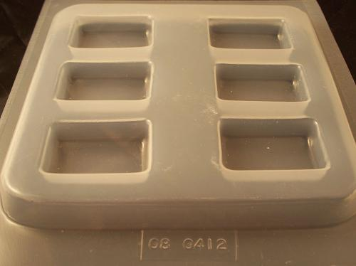 Rectangular Mold 412 - 6 Cavity