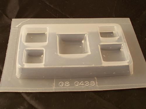 Square Mold 438 - 5 Cavity