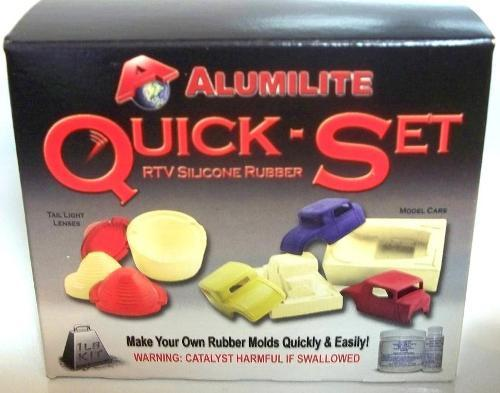 Alumilite Quick Set Rubber Silicone