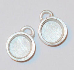 Circle pewter bezels