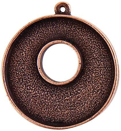 Grande Toggle Circle- Copper